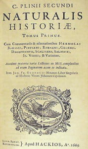"""Historia naturalna"", Pliniusz Starszy"